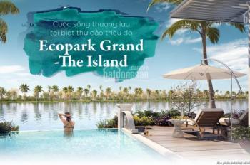 Mở bán biệt đảo B Sapphire Ecopark 40 căn DT 270m2 đến 1000m2, 62% diện tích mặt nước và cây xanh