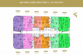 Chính chủ bán căn hộ 908-IP1 chung cư Imperial Plaza, DT 79.8m2, 2PN, giá bán 29tr/m2.LH 0968088365