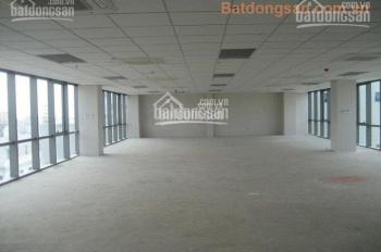 Cho thuê sàn VP mặt phố Duy Tân, Dương Đình Nghệ, 140m2, 270m2, 310m2, giá chỉ 180nghìn/m2/th