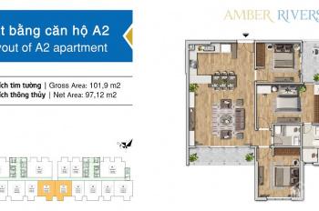 Amber Riverside 622 Minh Khai: Vị trí, tiện ích như Times City thiết kế như Park Hill &rẻ hơn nhiều