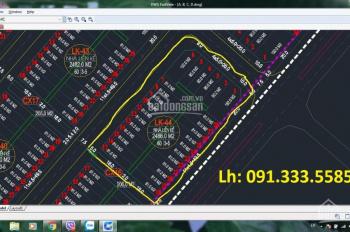 Mở bán LK 44 dự án Hà Khánh B, ven biển mở rộng giá tốt nhất thị trường