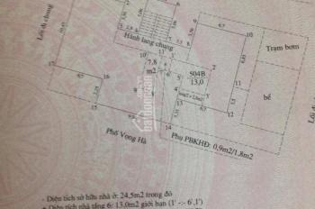 Bán nhà tập thể tầng 5, TT Ngân Hàng 94B Vọng Hà