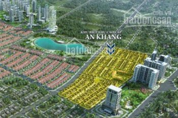 Sở hữu biệt thự cao cấp An Khang Villa, Dương Nội, đường 40m, chiết khấu đến 3,5%. LH 0969568300