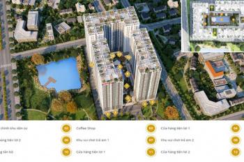 Chính chủ bán căn hộ Prosper Plaza, Quận 12, 63.14m2, 2 phòng ngủ, đã nhận nhà, bàn giao ngay