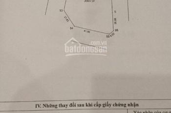 Bán 3500m2 đất 50 năm, quy hoạch xây TTTM khu TC5 Tân Triều, giá: 19tr/m2, LH: 0903244899