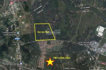An cư tại vị trí đắc địa KDC T&T Thái Sơn - Long Hậu, giáp ranh Nhà Bè. Giá từ 10tr/m2 (sổ đỏ)
