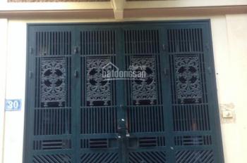 Cho thuê nhà riêng ngõ 215 Trần Quốc Hoàn, DT: 45m2 xây 4 tầng, giá cực hấp dẫn