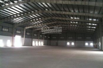Cần cho thuê kho xưởng ngay cầu An Sương. DT 4000m2, giá 350 tr/th