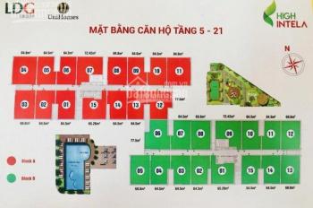 Cần tiền bán căn hộ High Intela, quận 8, mặt tiền Võ Văn Kiệt