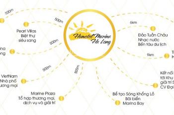 Siêu hot Đầu tư Hometel Marina Hạ Long chỉ 999 triệu căn 2PN. Tỷ suất lợi nhuận tối thiểu 18%/ năm