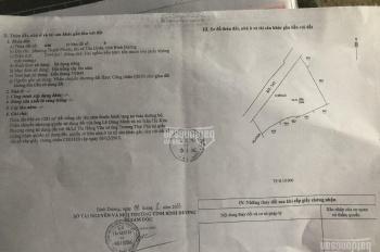 Bán đất mặt tiền đường DT 747, phường Thạnh Phước, TX Tân Uyên, Bình Dương, 80 x 30m (thổ 500m2)