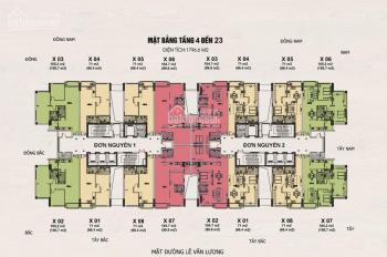 Cho thuê căn hộ Handi Resco Lê Văn Lương, 71m2 làm văn phòng, giá rẻ 8 triệu/tháng