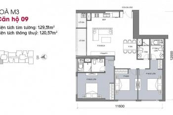 Bán căn hộ chung cư tại Vinhomes 29 Liễu Giai diện tích 130m2 view trực diện hồ Tây