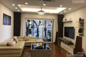 Cho thuê CCCC Golden Place tòa A căn góc 3PN, đủ đồ, 128m2 view đẹp, 20 tr/th. LH C. Hải 0896615065