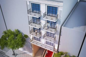 Bán tòa nhà 9 tầng mặt phố Triệu Việt Vương, DT 166m2, MT 7.2m, LH: 0965190000