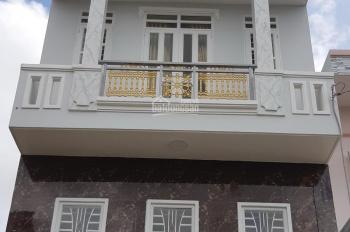 Nhà mới xây, mặt đường nhựa rộng 9m, gần Lê Văn Khương, Q. 12, 5x13m, đúc 4 tấm, 4 tầng, 5 phòng