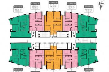 Tôi chủ hai căn hộ CC 360 Giải Phóng 1009 - 63m2 và 1606 - 95m2, giá 25tr/m2. 0901798296 (bán gấp)