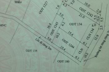 Bán 82m2 đất, 5 x 16,4m, khối Thanh Tây, phường Cẩm Châu, TP Hội An