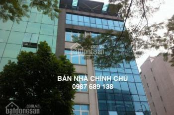 Chính chủ bán nhà mặt phố Lê Đức Thọ, DT 86m2 MT 8m, 7 tầng thang máy, vị trí cực đẹp. 0987.689.138