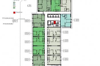 Chính Chủ cần bán gấp CC Eco Green City tầng 1602 - CT1, DT 75m2 giá 2 tỷ, bao phí, 0968822071