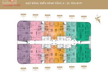 Chính chủ bán cắt lỗ sâu CC 360 Giải Phóng căn 1501, DT: 119m2 toà IP1 giá 25 tr/m2. 0968822071