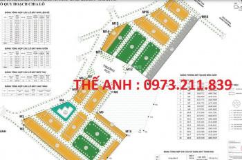 Bán đất biệt thự TST Đại học Vân Canh, diện tích 200m2. Giá 17 tr/m2