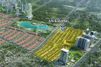 Bán gấp căn biệt thự An Khang, khu đô thị Dương Nội, mặt đường 40m, diện tích 182m2, giá 78tr/m2