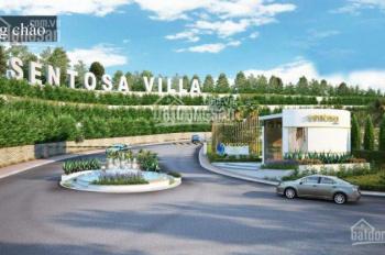 Sentosa Villa Phan Thiết 250m2 giá từ 9 tr/m2, CK 3%. LH 0908235800 để xem thực tế