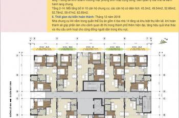 Bán chung cư Handico A4 nằm trên đường 32 và Phạm Đình Toái, giá nội bộ