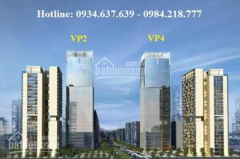 Mở bán đợt cuối chung cư cao cấp VP2, VP4 trung tâm bán đảo Linh Đàm, liên hệ: 0984.218.777