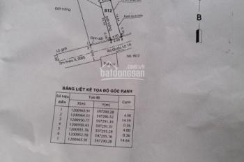 Kẹt tiền bán gấp lô đất (4*15m), đường thông, phường Tân Thới Hiệp