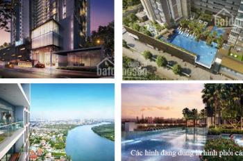 Cần bán căn hộ The Nassim Thảo Điền 3PN 119m2 tầng cao view sông đẹp giá 9,8 tỷ. LH 0912381539