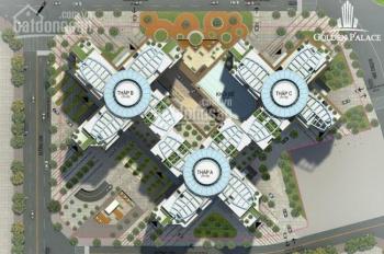 Chính chủ bán căn hộ Golden Palace Mễ Trì 141m2, căn góc 4 phòng ngủ, 3 ban công full đồ giá 4,4 tỷ