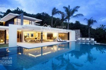 Holm Villas Thảo Điền, biệt thự sân vườn còn duy nhất 1 căn 412m2 kiến trúc hiện đại - 0901840059