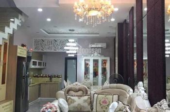 Cần bán nhà 3 tầng mê lệch mặt tiền đường Cao Xuân Huy, Q. Cẩm Lệ, thiết kế đẹp hiện đại vào ở ngay