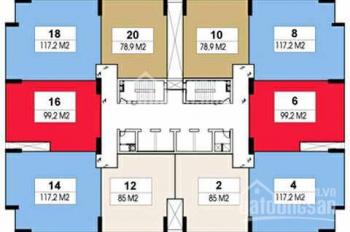 Bán chung cư Rainbow Văn Quán 80m2-86m2 - 100m2-120m2 tòa đẹp nhất Văn Quán, giá từ 25.5tr/m2