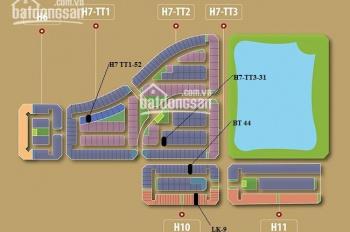 Shophouse H6 Tây Hồ Tây, giá 230tr/m2, LH 0904718336