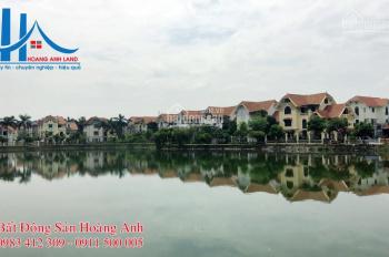 Bán biệt thự đơn lập mặt hồ khu đô thị Thiên Đường Bảo Sơn, DT 380m2, xây thô 3,5 tầng