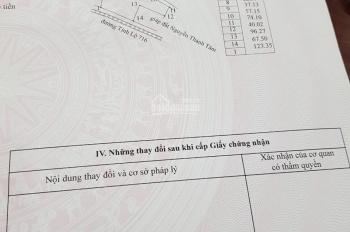 Bán lô đất mặt đường nhựa 715 khu vực xã Hòa Thắng, huyện Bắc Bình, Bình Thuận