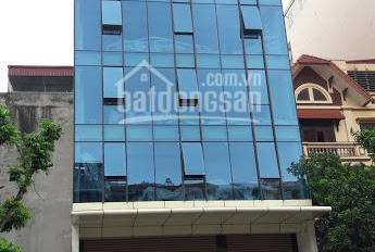 Bán tòa nhà văn phòng mặt phố Tôn Đức Thắng, DT 135 m2 x 8 tầng, 1 hầm, giá bán 63 tỷ