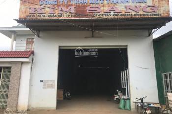 Cho thuê nhà kho, văn phòng, 2 MT đẹp kiên cố Km 10 - Quốc Lộ 14 - TP. Buôn Ma Thuột - Tỉnh Đắk Lắk