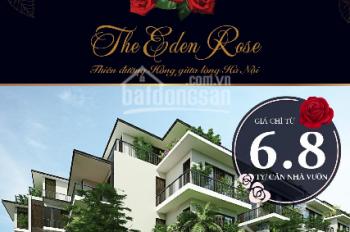 Cần bán gấp liền kề căn góc tại dự án biệt thự liền kề Eden Rose