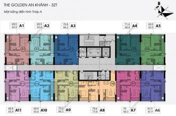 Bán gấp 3 căn 1602 (65.6m2) & 1508(73.8m2) B, 2003(92) tòa C, CC An Khánh 32T, 14tr/m2, 0968822071