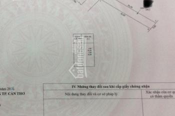 Mặt tiền đường Nguyễn Văn Cừ nối dài (đối diện bảo hiểm xã hội), DT: 9m x 36.6m