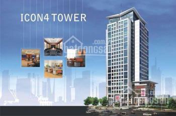 Cho thuê văn phòng trọn gói, chỉ từ 8 triệu/tháng tại tòa nhà Icon 4. LH: 0973497885