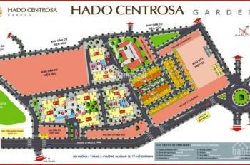 Bán căn 3PN 107m2 Hà Đô Centrosa tòa Orchid nhận nhà ở ngay căn góc 3 mặt thoáng, LH: 0906.2341.69