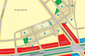 Bán đất giá rẻ 16 triệu/m2 tại mặt tiền đường Hoàng Minh Chánh, Biên Hòa, Đồng Nai, LH: 0977233157