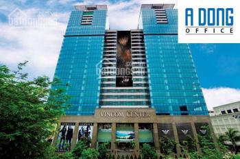 Cho thuê VP Vincom Center Đồng Khởi, Q. 1 - DT: 263 m2, 805 nghìn/m2 - LH 0932 129 006