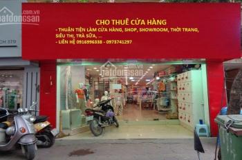 Cửa hàng + mặt bằng kinh doanh tại khu vực quận Cầu Giấy cho thuê - thông tin mới được cập nhật
