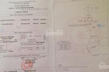 Bán nhà hẻm 136 Trần Quang Diệu, phường 14, Quận 3. LH: 0911.336.270